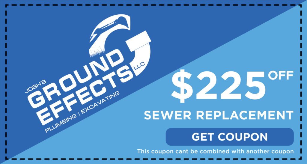Josh's Sewer Replacement Coupon